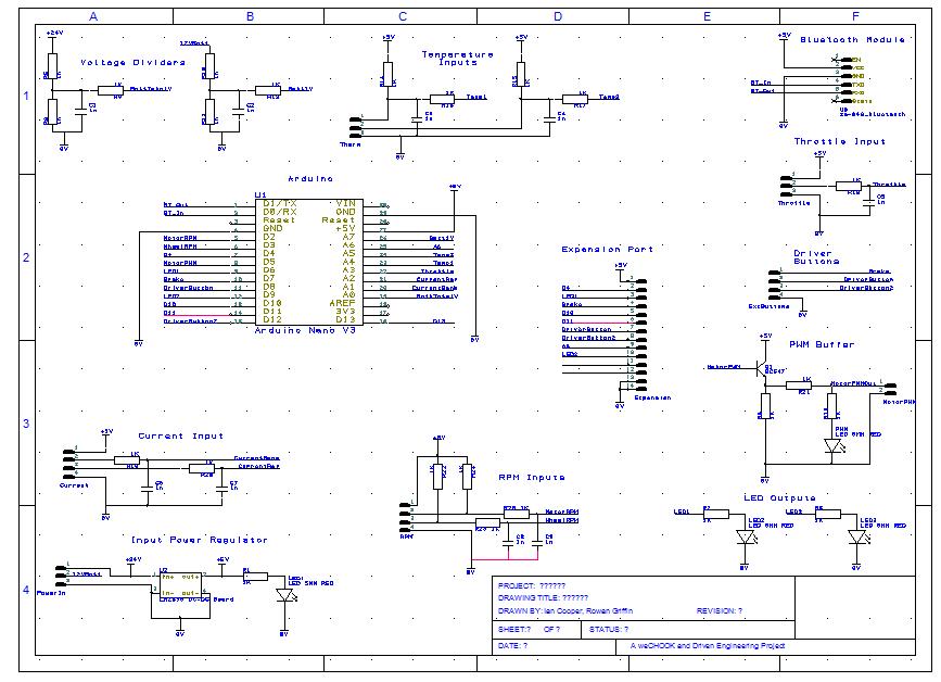 eChook Nano Schematic