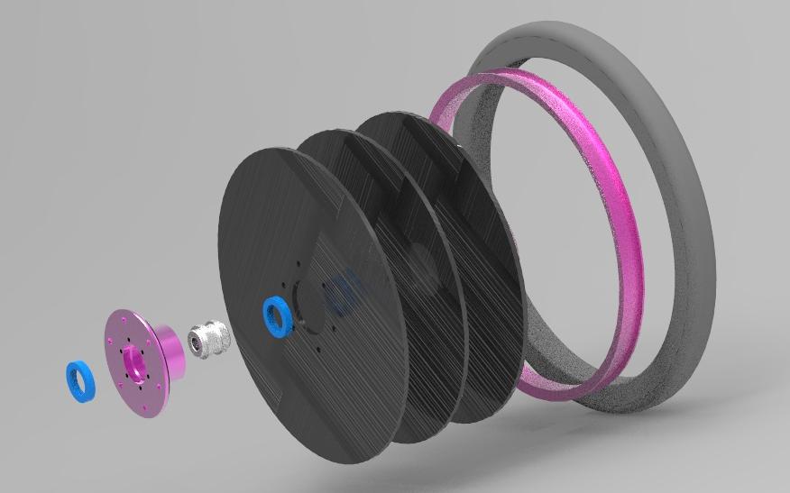 Initial flat wheel design